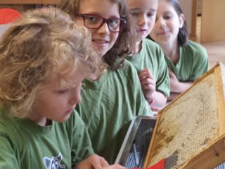 Verschiedene  Aktivitäten werden beim Kids Club angeboten.